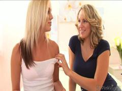 If you got a cock you ain\'t so hot to pretty Cassidy, but sexy Kasey was totally her flavor! This pretty actress wasn\'t faking when Cas worked her magic tongue (and fat strap-on) on her hot snatch! Don\'t miss pretty Kasey\'s first lesbian sex!