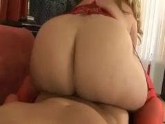 Hot Busty Blonde BBW Banging