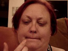 Lipstick Dildo Deepthroat Practice