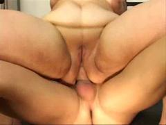 bbw does anal in gym