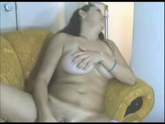 Horny  Latina Ex Girlfriend with Vibrator on Webcam