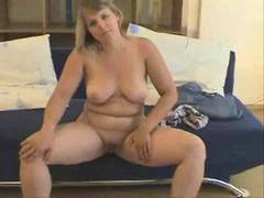 Horny Chubby Teen Ex Girlfriend showing Tits and Pussy