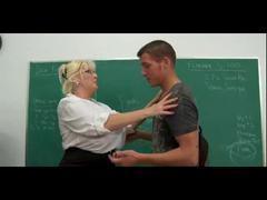 big tits teacher hardfucked