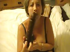 Milf mum has massive convulsing orgasm on BBC dildo