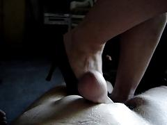 Massage with shoes