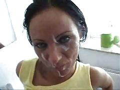 Hot Horny Milf Fucking In The Toilet And Facially Creamed !
