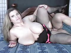 Big Tits BBW Haley Fucked And Spoonfed Jizz