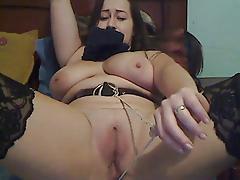 Cam slave, pussy pain 2nd part
