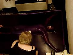 latex vaccum bed