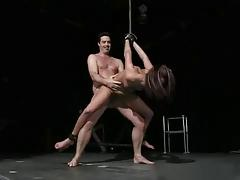 Hot Tied Girl Gets Fucked
