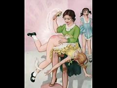 Erotic Spanking Art (Innerworld)