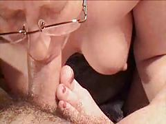 Amazing Deepthroat Blowjob By Mature Amateur Wife !