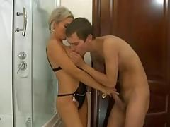 Hot Mom Bathroom Fuck