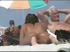 Spying Asses and Pussies on Suntan Beach by TROC