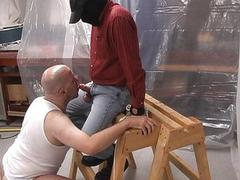 Redneck gay domination spanking