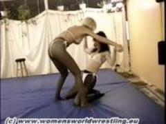 Pantyhose Catfight