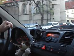Horny Czech Girl Carries Boots When Autosex