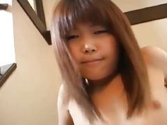 natsuki takamura toying with her hairy pussy