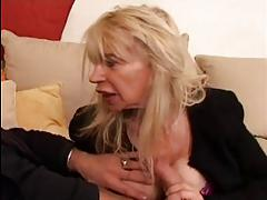 FRENCH MATURE n40 blonde ugly moms vieille salope