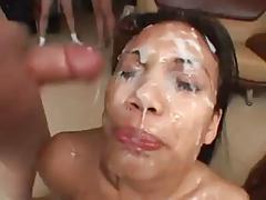 Thai Bukkake Cum Facial