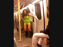 Slut on Subway