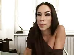 Z44B 790 Sexy Hot Secretary
