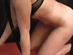 Francesca use her vibrator