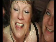 FRENCH MATURE n49b anal bbw mom in interracial party sex