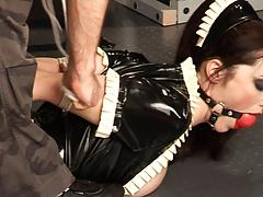 Related maid in latex 2