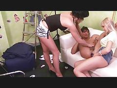 Boy fucked in a job agency