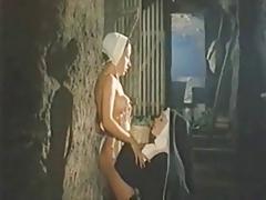 Vintage lesbian nun