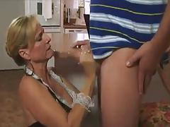 MILF Maid Handjob