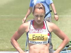 Jessica Ennis - UK Olympic Gold Medal ASS - Ameman
