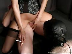 Mistress cuckold too cumeating