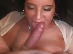 Filthy squirting milf loves sucking & fucking cock