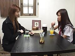 Japanese Lesbians (We must tame the new teacher)SM