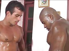 TWO SWEATY HOLES FOR TWO COCKS