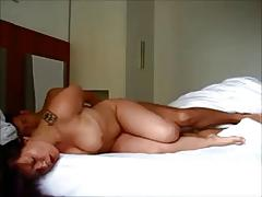 Brunette with amazing body gets fucked
