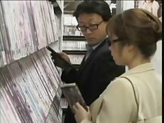 Japanese Porn Shop Encounter - Ameman