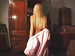 Blonde girl Priscila Prado