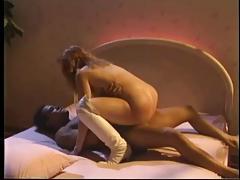 Classic Big Tit Readhead Rusty Rides His Cock