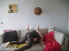 French wife enjoying her black lover
