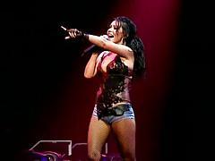 Christina Aguilera sexy brunette compilation