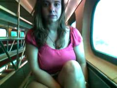 Alix Lakehurst masturbates on a train (Full) Part 2