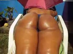 Huge Ass On The Sun