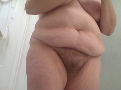 bbw with hairy pussy & big boobs.