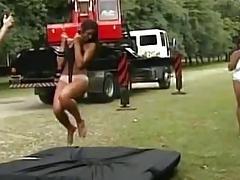 Testing the panties