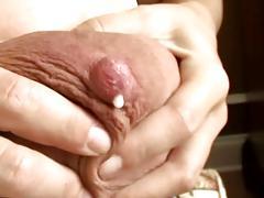 Huge Milky Breasts & Hand Job