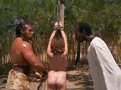 Flogging - scene from movie