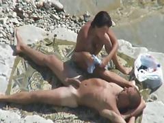 amateur fuck slut beach voyeur